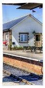 Furnace Sidings Railway Station Bath Towel
