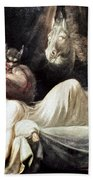 Fuseli: Nightmare, 1781 Bath Towel