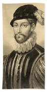 Gabriel De Lorges, Comte De Montgomery Hand Towel