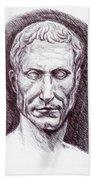 Gaius Julius Caesar Bath Towel