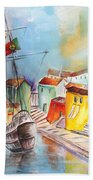 Gallion In Vila Do Conde Bath Towel