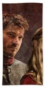 Game Of Thrones. Cersei And Jaime. Bath Towel