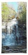 Ganoga Falls 3 - Ricketts Glen Bath Towel