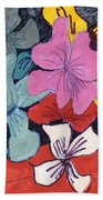 Garden Arrangement Bath Towel