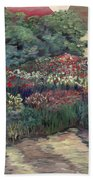 Garden At Giverny Bath Towel