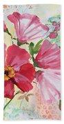 Garden Beauty-jp2954b Bath Towel