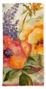 Garden Beauty-jp2955b Bath Towel