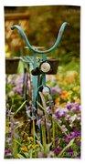 Garden Bicycle Bath Towel