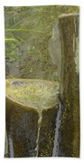 Garden Fountain Bath Towel