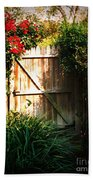 Garden Gate Bath Towel