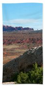 Garden Of Eden Rock Formations, Arches National Park, Moab Utah Bath Towel