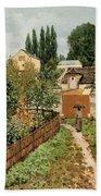 Garden Path In Louveciennes Bath Towel