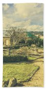 Garden Paths And Courtyards Bath Towel
