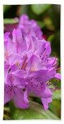Garden Rhodoendron Plant Bath Towel