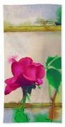 Garden Rose Bath Towel