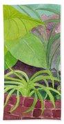 Garden Scene 9-21-10 Bath Towel