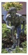 Garden Statue Ringling Museum  Bath Towel