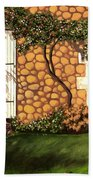 Garden Wall Bath Towel