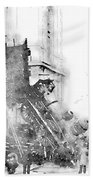 Gare Montparnasse 1895 Bath Towel
