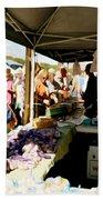 Garlic Farmers Bath Towel