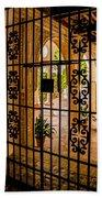 Gate - Alcazar Of Seville - Seville Spain Bath Towel