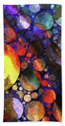 Gathering Of The Planets Bath Towel
