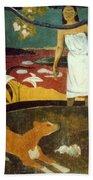 Gauguin: Pastoral, 19th C Bath Towel