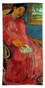 Gauguin: Reverie, 1891 Bath Towel