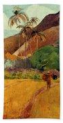 Gauguin: Tahiti, 1891 Hand Towel