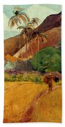 Gauguin: Tahiti, 1891 Bath Towel