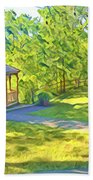 Gazebo On Onion Creek Bath Towel