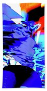 Blue Narcissus Hand Towel