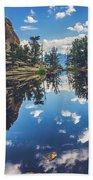 Gem Lake Reflections Bath Towel