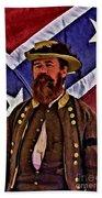 General Jeb Stuart Of Vmi Bath Towel