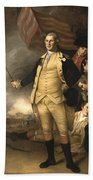 General Washington At The Battle Of Princeton Bath Towel