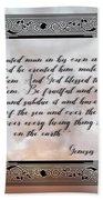Genesis 1 27-28 Hand Towel