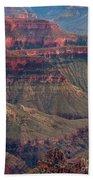 Geological Formations North Rim Grand Canyon National Park Arizona Bath Towel
