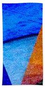Geometric 2b  Abstract Bath Towel