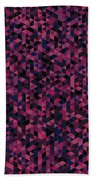 Geometric Print Bath Towel