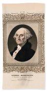 George Washington - Vintage Color Portrait Hand Towel