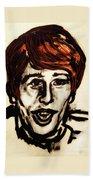 Georgie Fame Portrait Bath Towel
