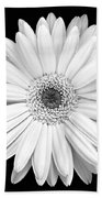 Single Gerbera Daisy Bath Towel