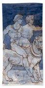 Gericault: Bacchus & Ariadne Bath Towel