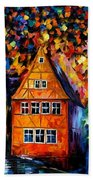 Germany - Medieval Rothenburg Bath Towel