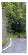 Germany Roads Bath Towel