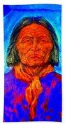 Geromino - Chiricahua Apache Leader Bath Towel