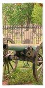 Gettysburg Cannon Cemetery Hill Bath Towel