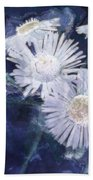 Ghost Flowers Bath Towel
