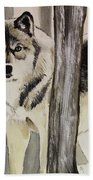 Ghost In The Woods Bath Towel