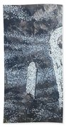 Ghost Town Boot Hill Bath Towel